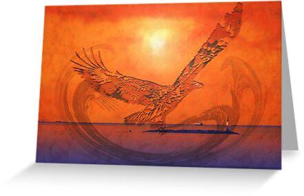 Spirit Eagle - Anpiel by Gail Bridger