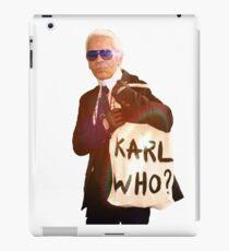 Karl Lagerfeld- Karl who iPad Case/Skin
