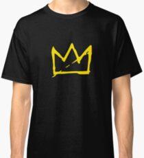 Yellow BASQUIAT CROWN Classic T-Shirt