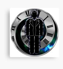 Doctor Who - 9th Doctor - Christopher Eccleston Canvas Print