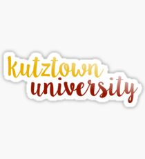 Kutztown University Sticker