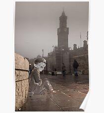 #PleaseLookAfterMe Ice Sculptures - Bradford Poster