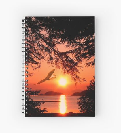 Sunrise Mountain Spiral Notebook