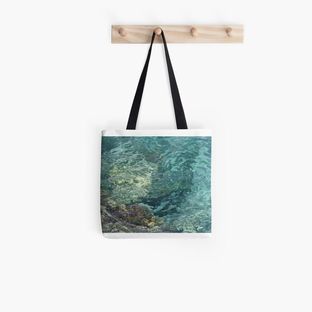 Reflejos en el  mar Tote Bag