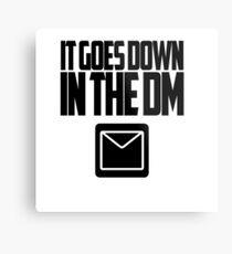 YO GOTTI - DOWN IN THE DM Metal Print