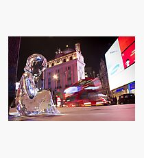 #PleaseLookAfterMe Ice Sculptures - London Photographic Print
