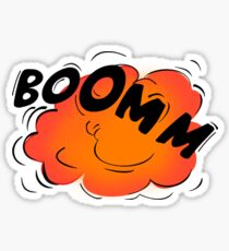 """BOOM"" Sound (Onomatopoeia)  Sticker"