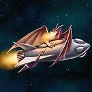 The Dragon's Rocketship by Svenja Gosen