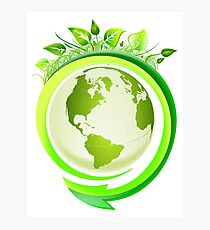 Earth Nature Ecology Photographic Print
