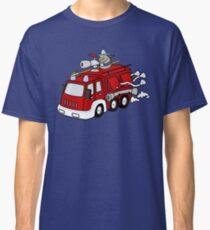 Fire Engine Penguin Classic T-Shirt