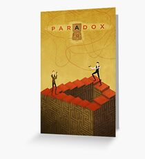 Paradox Greeting Card