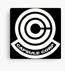 Capsule Corp Logos Canvas Print
