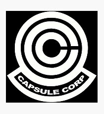 Capsule Corp Logos Photographic Print