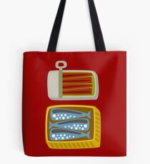 Canned Fish Tote Bag