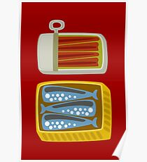 Canned Fish Poster