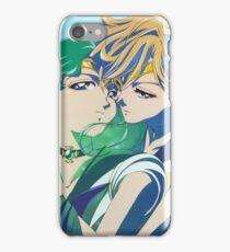 Sailor Neptune and sailor Uranus iPhone Case/Skin