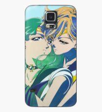 Sailor Neptune and sailor Uranus Case/Skin for Samsung Galaxy