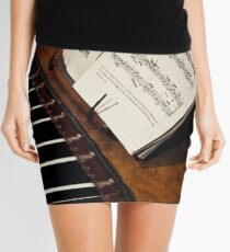 A Little More Music Mini Skirt