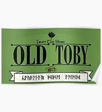 Old Toby Tobacco Poster