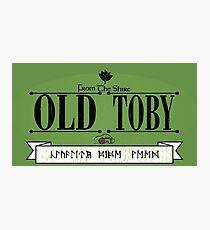 Old Toby Tobacco Photographic Print