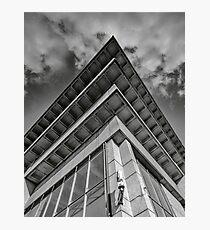 brutalist rooftop Photographic Print