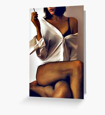 Seduction Greeting Card
