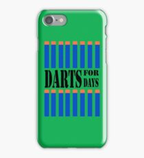 NERF TOY DESIGN- DARTS FOR DAYS! iPhone Case/Skin
