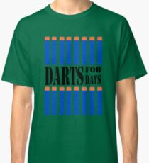 NERF STYLE TOY DESIGN- DARTS FOR DAYS! Classic T-Shirt