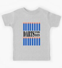 NERF TOY DESIGN- DARTS FOR DAYS! Kids Tee