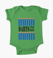 NERF TOY DESIGN- DARTS FOR DAYS! One Piece - Short Sleeve