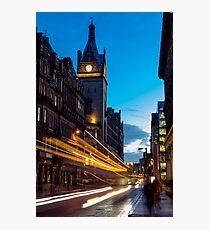 Hope Street, Glasgow Photographic Print
