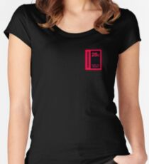 Arcade Coin Slot Women's Fitted Scoop T-Shirt