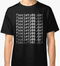 Mr. Robot - fsociety00.dat Classic T-Shirt