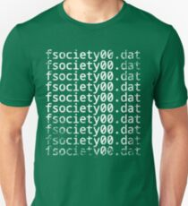 Mr. Robot - fsociety00.dat Unisex T-Shirt