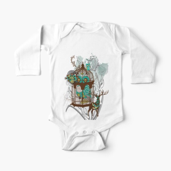 Life is  A Hoot Long Sleeve Baby One-Piece