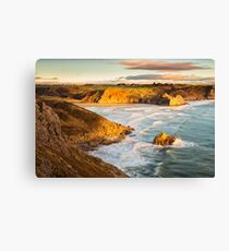 Three Cliffs Bay, Gower Canvas Print