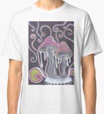 Trippy Mushroom Classic T-Shirt