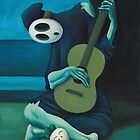 The Shy Guitarist by Katie Clark