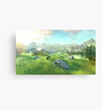 The Legend of Zelda for Wii U Canvas Print