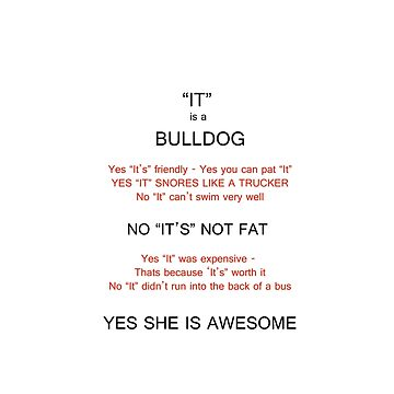 Bulldog owners answers. by TPE85
