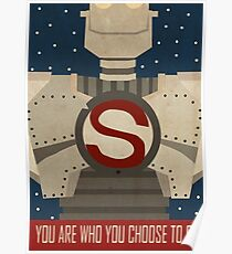 Iron Giant Star Poster Poster