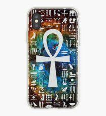 Vinilo o funda para iPhone Galaxia egipcia Galaxy