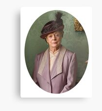 Lady Violet Downton Abbey Metal Print