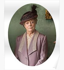Lady Violet Downton Abbey Poster