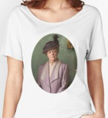 Lady Violet Downton Abbey Women's Relaxed Fit T-Shirt