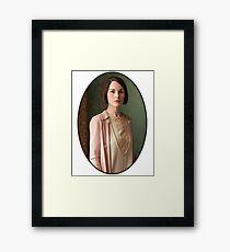 Lady Mary Crawley Framed Print