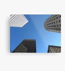 Downtown Providence by Leebabe Metal Print