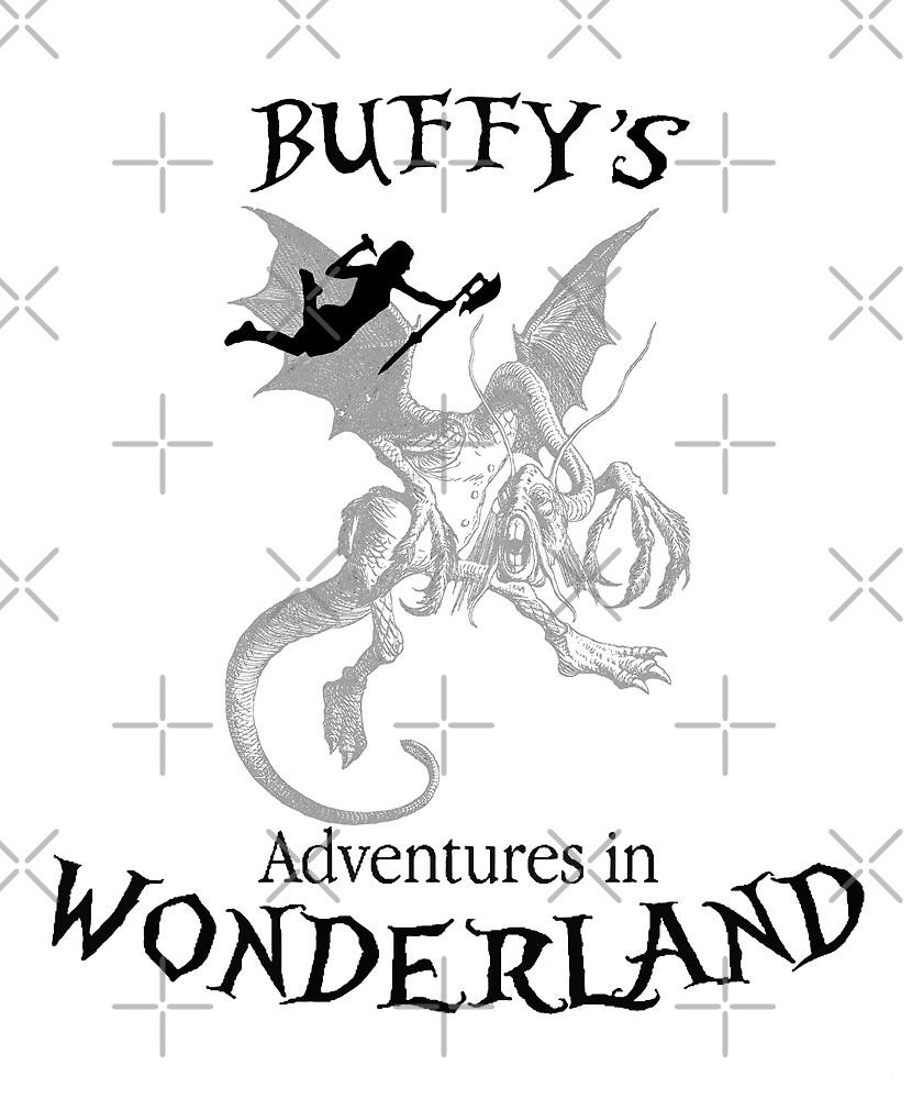 Buffy's  Adventures in Wonderland by LordNeckbeard