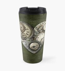 Herzstein Steampunk Thermobecher