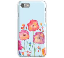 Taylor Swift Watercolor Flowers iPhone Case/Skin